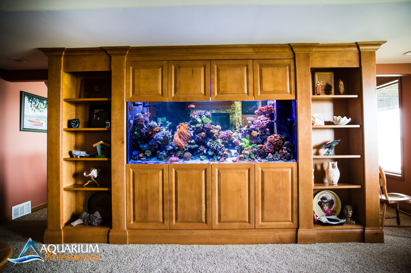 350 Gallon Double-Sided Room Divider